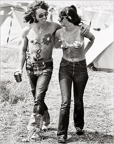 Hippies - Isle Of Wight Pop Festival, 1969