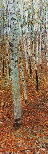 Gustav Klimt - Birch Forest, 1903, 1 Part