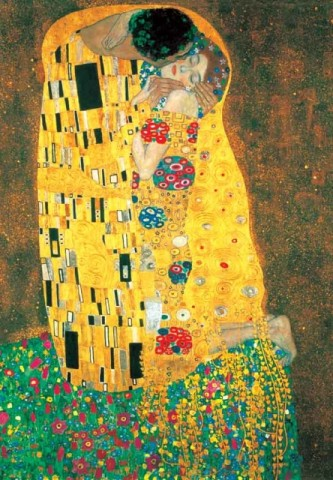 Gustav Klimt - The Kiss, 1908