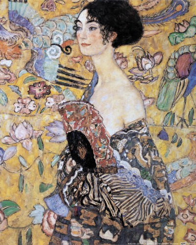 Gustav Klimt - Lady With Fan, 1917-18