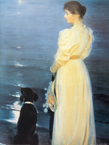 Peter Severen Kroyer - Sommerabend In Skagen, 1892