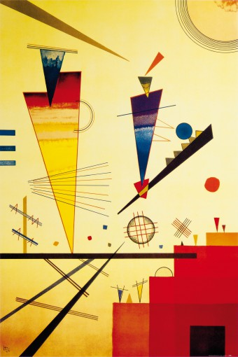 Wassily Kandinsky - Cheerful Structure, 1926