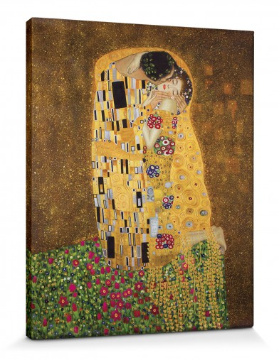 gustav klimt der ku ii hochwertige leinwanddrucke online im shop von 1art1 kaufen. Black Bedroom Furniture Sets. Home Design Ideas