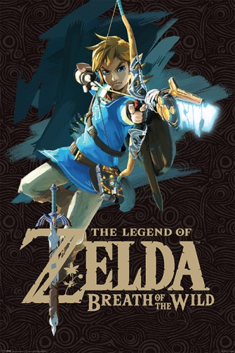 The Legend Of Zelda - Le Souffle De La Nature, Couverture De Jeu