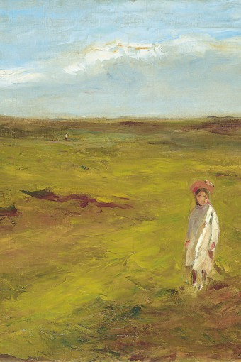 Max Liebermann - Child In The Dunes, 1907