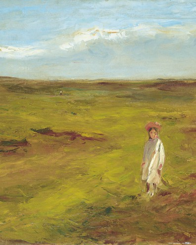 Max Liebermann - Kind In Den Dünen, 1907