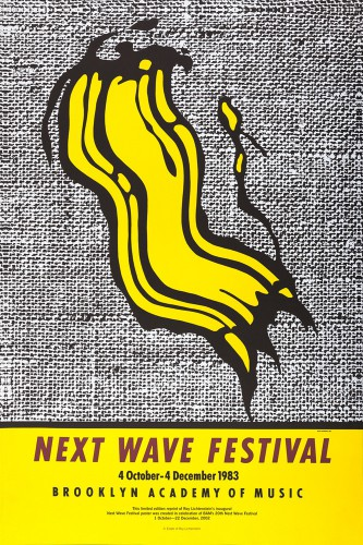 Roy Lichtenstein - Next Wave Festival, 1983
