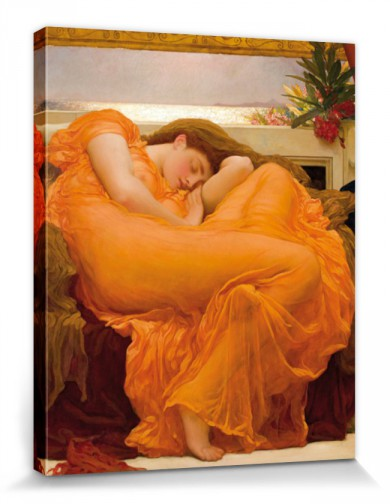 Frederic Lord Leighton - Flaming June, 1895