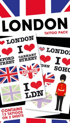 London - Pack 1, 13 Tattoos