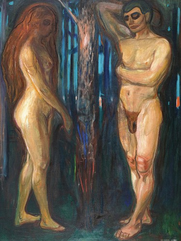 Edvard Munch - Metabolismus, 1898-1899