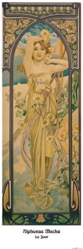 Alphonse Mucha - The Times Of Day, Brightness Of Day, 1899