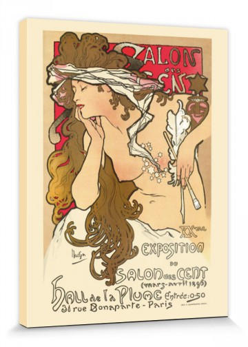 Alphonse Mucha - Salon Des Cent, Paris 1896