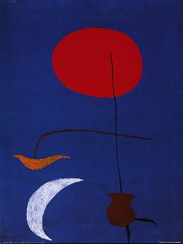 Joan Miró - Draft For A Tapestry