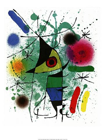 Joan Miró - Singing Fish