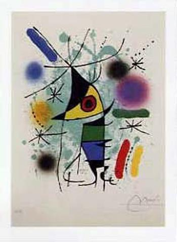 Joan Miró - Le Poisson Chantant