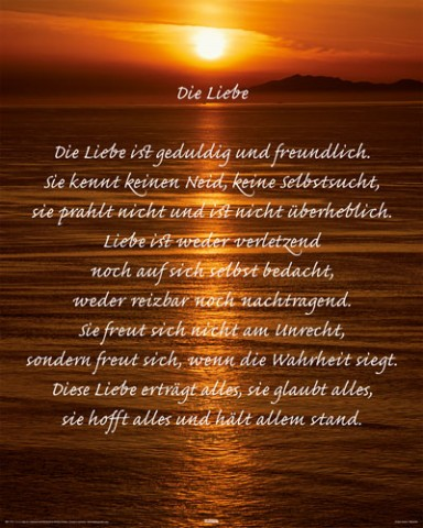 Motivation - Korinther, Liebe Ist