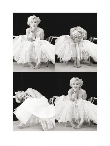 Marilyn Monroe - Ballerina Photo Sequence