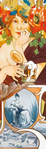 Alphonse Mucha - Beers Of The Meuse, 1897, 1 Part