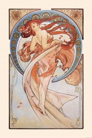 Alphonse Mucha - The Dance, 1898