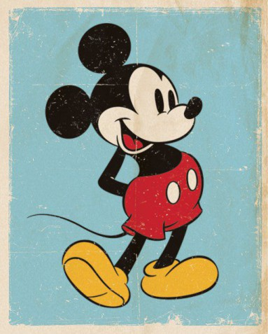 Mickey Mouse - Retro