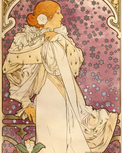 Alphonse Mucha - Sarah Bernhardt, The Lady Of The Camellias, 1896