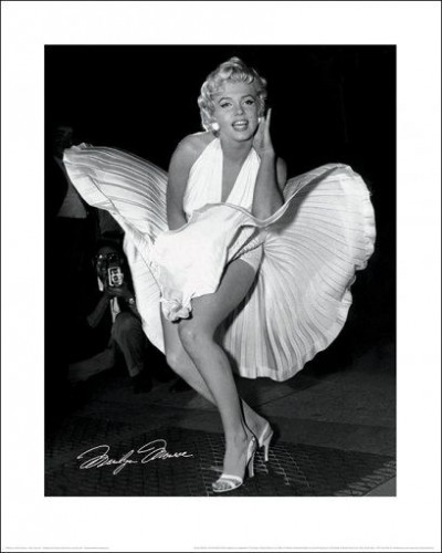 Marilyn Monroe - Seven Year Itch, White Dress Scene