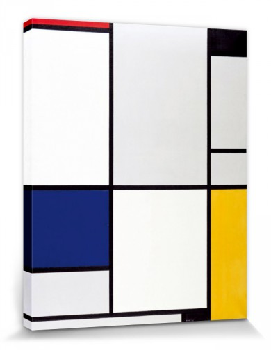 piet mondrian tableau i 1921 stretched canvas prints buy posters online with 1art1. Black Bedroom Furniture Sets. Home Design Ideas
