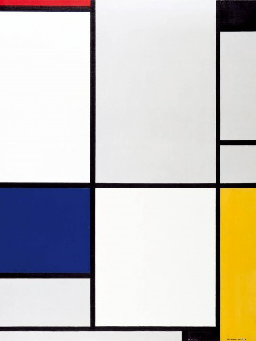 piet mondrian tableau i 1921 kunstdrucke online im shop von 1art1 kaufen. Black Bedroom Furniture Sets. Home Design Ideas
