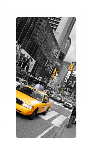 new york taxi bilder auf acrylglas online im shop von 1art1 kaufen. Black Bedroom Furniture Sets. Home Design Ideas