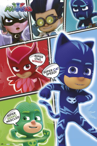PJ Masks – Pyjamahelden - Super Cat Speed