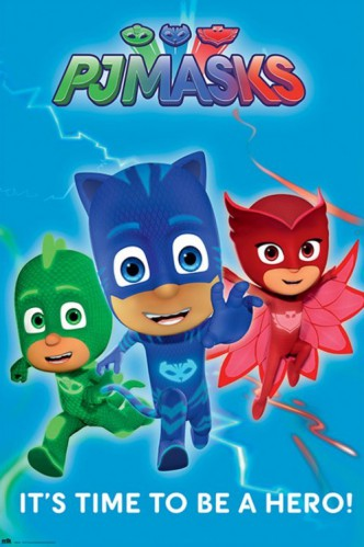 PJ Masks – Pyjamahelden - It´s Time To Be A Hero