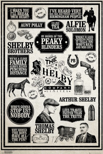 Peaky Blinders - Infographic