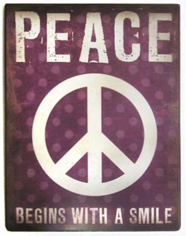 Frieden - Peace Begins With A Smile