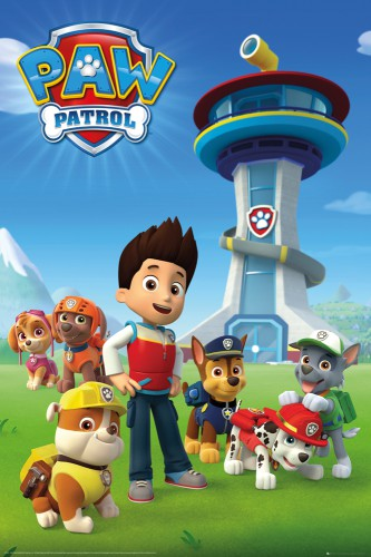 Paw Patrol - Ryder And His Dogs
