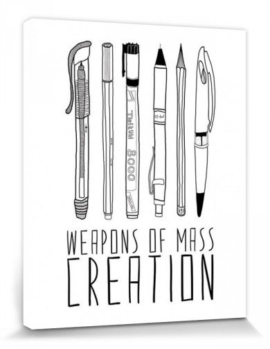 Pens - Weapons Of Mass Creation, Bianca Green