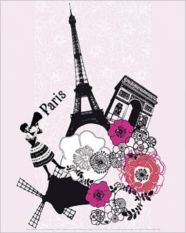 paris paris paradis reproductions acheter des posters sur le site de 1art1. Black Bedroom Furniture Sets. Home Design Ideas
