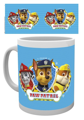 Paw Patrol Marshall Rubble And Chase Mugs Buy