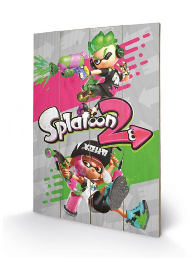Splatoon - 2, Pink Vs Green