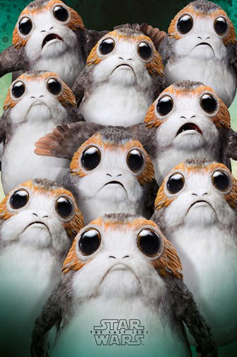 Star Wars - Episode VIII, The Last Jedi, Many Porgs