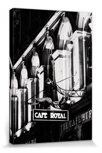 Scotland - Cafe Royal B/W