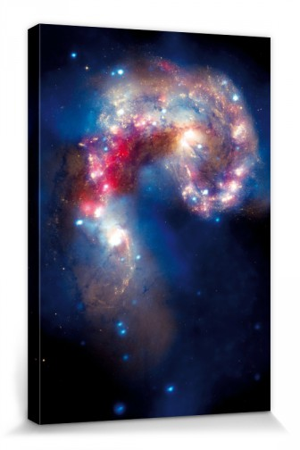Space And Universe - Colliding Antennae Galaxies