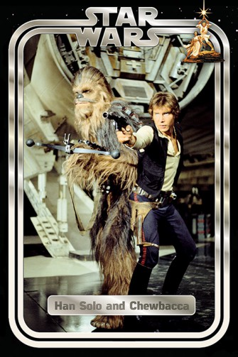 Star Wars - Classic Han And Chewie Retro