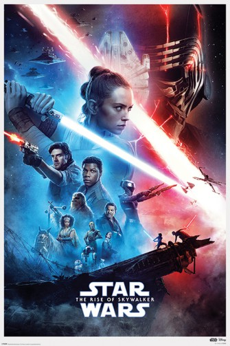 Star Wars - Episode IX Rise Of Skywalker Saga, One Sheet