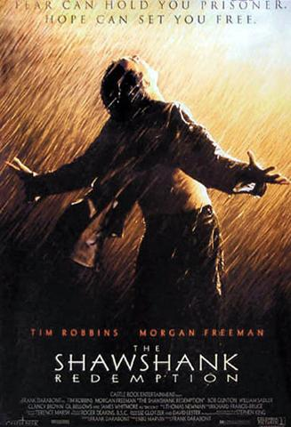 Shawshank Redemption - Rain, Tim Robbins, Morgan Freeman