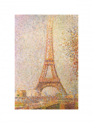 Georges Seurat - The Eiffel Tower, 1889
