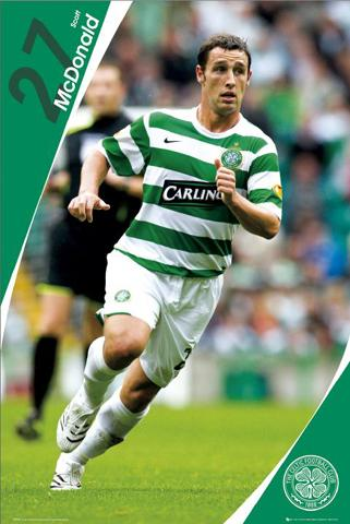 Football - Celtic, Scott Mcdonald 07/08