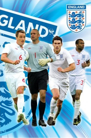 Football - England F.A, Terry, Green, Barry & Cole