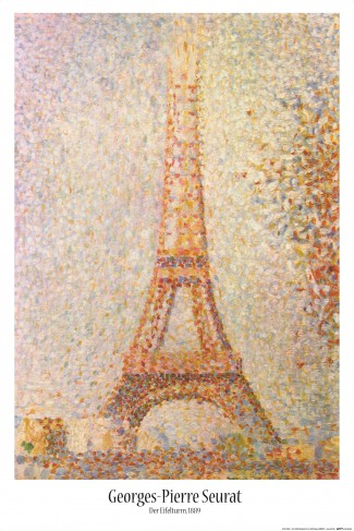 Georges Seurat - The Eiffel Tower