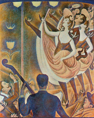 Georges Seurat - Can-Can, Le Chahut