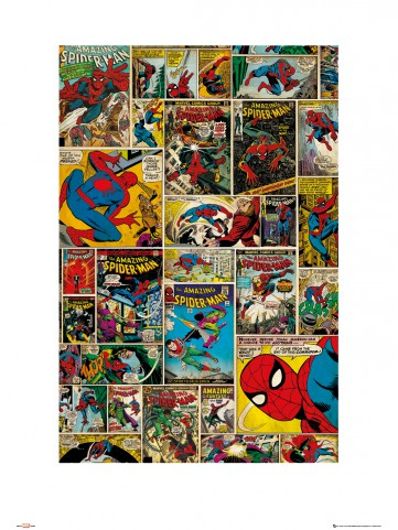 Spider-Man - The Amazing, Marvel Comic Covers